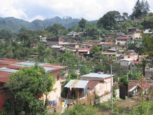 Armenviertel in Cobán